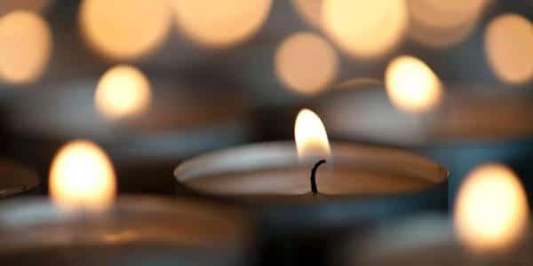 температура пламени свечи