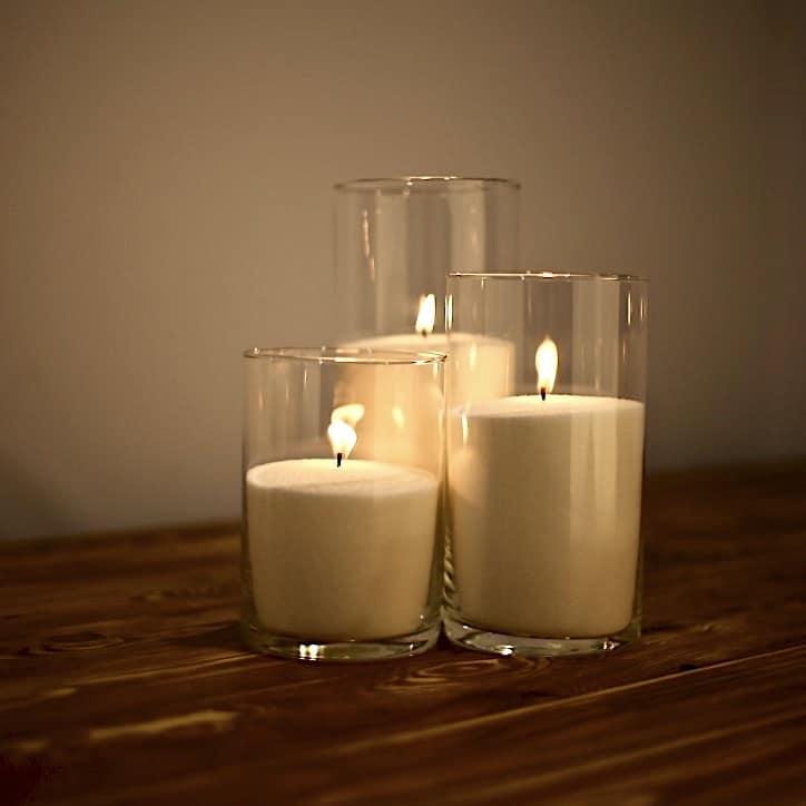 насыпные свечи 16, 21, 26 см