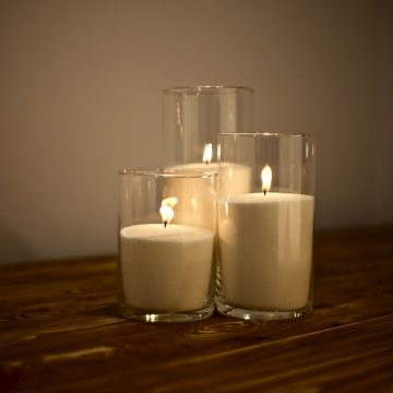 свечи 16, 21, 26 см
