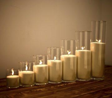 насыпные свечи 7 штук