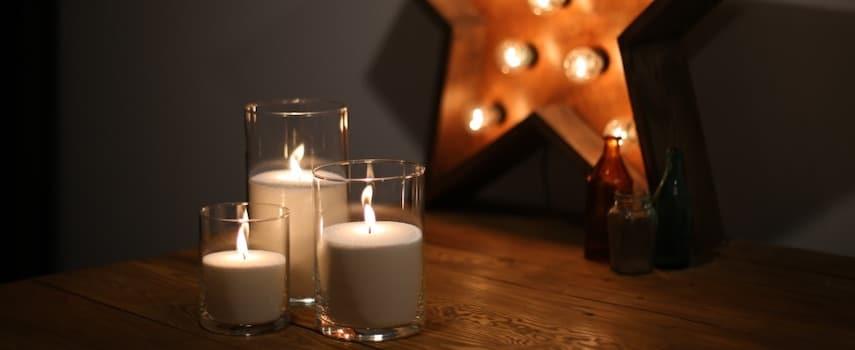 Как сделать насыпную свечу