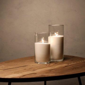 Набор Насыпные Свечи 2 штуки - 21 и 26 см