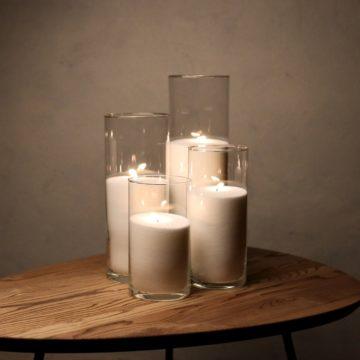 Набор Насыпные Свечи 4 штуки - 21, 26, 31 и 38 см