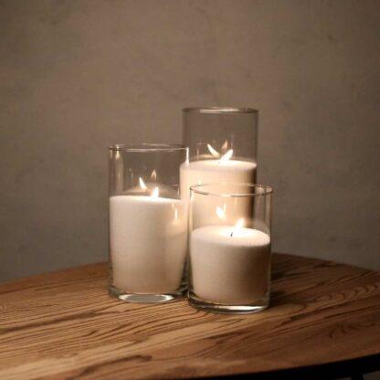 Насыпные свечи купить: набор 16, 21 и 26 см