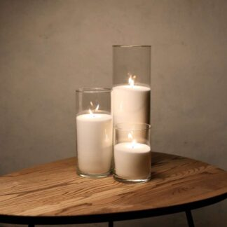 Набор Насыпные Свечи 3 штуки - 16, 26 и 38 см