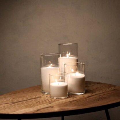 Набор Насыпные Свечи 4 штуки - 12, 16, 21 и 26 см