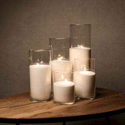 Набор Насыпные Свечи 5 штук - 16, 21, 26, 31 и 38 см